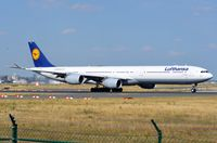 D-AIHA @ EDDF - Take-off run of LH A346 - by FerryPNL
