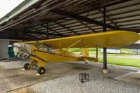 N92360 @ 6I4 - Piper J3C-65 Cub N92360 at Lebanon (Boone County) Airport, Indiana - by Graham Dash