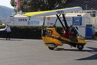 N899HT @ SZP - 2016 Evolution Trikes REVO weight-shift control production LSA, Rotax 912 100 Hp, taxi to hangar - by Doug Robertson