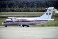 D-BATA @ EDDK - ATR 42-300 - NFD Nürnberger Flugdienst col. of Cinder Air - 079 - D-BATA - 13.10.1988 - CGN - by Ralf Winter