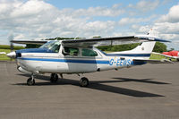 G-EEWS @ EGBT - Privately owned - by Howard J Curtis