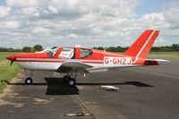 G-GHZJ @ EGBT - Privately owned - by Howard J Curtis