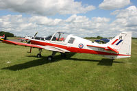 G-CBEF @ EGBT - Painted as XX621/H. At the Chip and Dog meet, 2014. - by Howard J Curtis