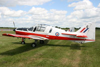 G-CBID @ EGBT - Painted as XX549. At the Chip and Dog meet, 2014. - by Howard J Curtis