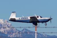 C-GMWX @ CYXX - Landing - by Guy Pambrun