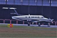 M-CDFY @ EGLF - Bit of a long range shot of this BAe Beech 200 Super King Air seen at Farnborough - by dave226688