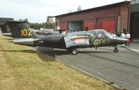 60102 @ ESTL - Ljungbyhed F.5 Air Base 25.8.1996 - by leo larsen