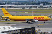 D-AEAM @ EBBR - Former Japanese (JA012D) DHL A306F - by FerryPNL