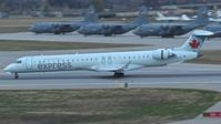 C-FUJZ @ MSP - Landing roll out on RWY 30R. - by Gerald Howard