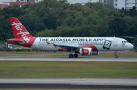 9M-AFW @ WSSS - Air Asia A320 just landed - by FerryPNL