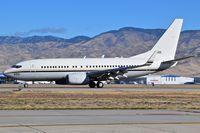 166695 @ KBOI - Landing roll out on RWY 28L. - by Gerald Howard