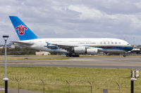 B-6136 @ YSSY - China Southern Airlines (B-6136) Airbus A380-841 departing Sydney Airport - by YSWG-photography