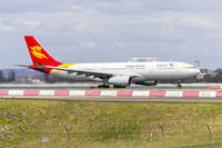 B-8019 @ YSSY - Capital Airlines (B-8019) Airbus A330-243 departing Sydney Airport - by YSWG-photography