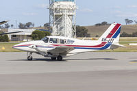 VH-JYI @ YSWG - Spookfish Aviation (VH-JYI) Piper PA-23-250 Aztec taxiing at Wagga Wagga Airport - by YSWG-photography