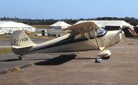 G-IVOR @ EGFH - Closer view of visiting Aeronca Chief. Summer 1994.