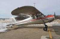 N81054 @ KUNU - Cessna 140