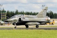 366 @ LFOA - Dassault Mirage 2000N, Taxiing to holding point rwy 24, Avord Air Base 702 (LFOA) Open day 2016 - by Yves-Q
