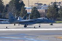 83-0036 @ KBOI - Taxiing on Bravo.  122nd Fighter Sq. Bayou Militia, 159th Fighter Wing, LA ANG. - by Gerald Howard