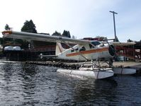 C-GFLT @ CAB4 - Tofina Air DHC2 at its base in Tofino, BC - by FerryPNL