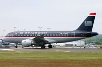 N732US @ KCLT - US Airways A319 about to depart CLT. - by FerryPNL