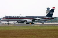 N604AU @ KCLT - US Airways B752 about to depart CLT - by FerryPNL