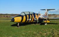 RA-01611 @ EGFH - Resident ex-Soviet Air Force Delfin in the sunshine.