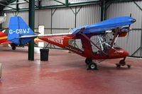G-CBWJ @ X3CX - Parked at Northrepps. - by Graham Reeve