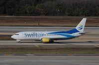 N538CC @ KTPA - Boeing 737-400