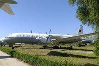 208 - Ilyushin Il-18D COOT at the China Aviation Museum Datangshan - by Ingo Warnecke