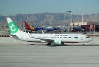 PH-HSK @ KLAS - Boeing 737-800 - by Mark Pasqualino