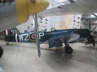 N114BP @ KPSP - Palm Springs Air Museum - by Daniel Metcalf