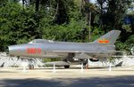 98071 - Chengdu J-7 (chinese Version of MiG-21F-13 FISHBED) modified with brake-parachute at the China Aviation Museum Datangshan