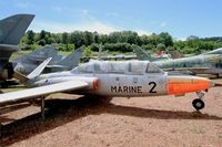 2 - Fouga CM-175 Zephyr, Savigny-Les Beaune Museum - by Yves-Q