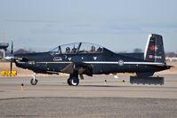 156125 @ KBOI - Taxiing to Alpha.  No.2 CFFTS, 15 Wing, Moose Jaw, Saskatchewan, Canada. - by Gerald Howard