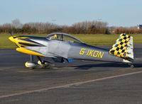 G-IKON @ EGTB - Vans RV-4 at Wycombe Air Park.