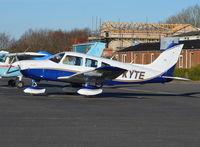 G-KYTE @ EGTB - Piper PA-28-161 Warrior II at Wycombe Air Park.