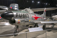 """52-3863 @ KFFO - On display at the National Museum of the U.S. Air Force.  """"Dennis the Menace"""" is in the markings of the 97th FIS based at Wright-Patterson Air Force Base during the mid-1950s."""