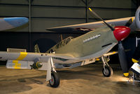 42-83665 @ KFFO - The Apache was the dive bomber version of the Mustang.  It was used by the USAAF in North Africa, Sicily, Italy and India.  This Apache is painted to represent the aircraft flown by Capt. Lawrence Dye of the 522nd FBS, 27th FG in World War II.