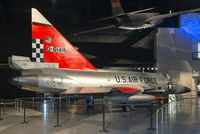 56-1416 @ KFFO - On display at the National Museum of the U.S. Air Force.  The F-102 was the USAF's first operational delta-wing aircraft, equipping more than 25 Air Defense Command squadrons.  This Delta Dagger served with 57th Fighter Interceptor Squadron in Iceland.