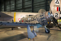 MM8146 @ KFFO - On display at the National Museum of the U.S. Air Force.  This Saetta carries the markings of Regia Aeronautica's 372a Squadriglia, 153° Gruppo.  It was transferred to the 165a Squadriglia in North Africa in Nov. 1942 and captured at Benghazi airfield.