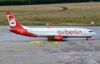 D-ABBK @ EDDK - Air Berlin about to depart CGN. - by FerryPNL