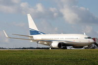 A6-DFR @ LMML - B737-700 A6-DFR Royal Jet - by Raymond Zammit