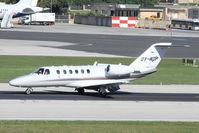 OY-NDP @ LMML - Cessna 525A CitationJet CJ2 OY-NDP