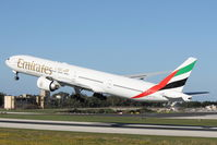A6-EGV @ LMML - B777 A6-EGV Emirates Airlines - by Raymond Zammit