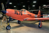 42-69654 @ KFFO - On display at the National Museum of the U.S. Air Force.  This Kingcobra is painted as an RP-63A manned target aircraft for aerial gunnery practice.