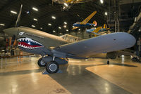 AK987 @ KFFO - On display at the National Museum of the U.S. Air Force.  This former RCAF P-40 is painted to represent the aircraft flown by Col. Bruce Holloway of the Flying Tigers and its successor, the 23rd Fighter Group.