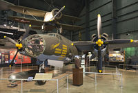 """42-95857 @ KFFO - On display at the National Museum of the U.S. Air Force.  This Marauder was flown by the Free French during the final months of World War II.  It is painted as """"Shootin in"""" assigned to the 387th Bomb Group, 9th Air Force in 1945."""