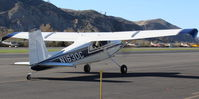 N1630C @ SZP - 1953 Cessna 180, Continental O-470 230 Hp, taxi to Fuel Dock - by Doug Robertson