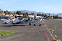 N1630C @ SZP - 1953 Cessna 180, Continental O-470 230 Hp, near Fuel Dock - by Doug Robertson