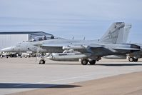 168774 @ KBOI - Parked on the south GA ramp.  VAQ 131 Lancers, CVN-77, USS George H.W. Bush. - by Gerald Howard